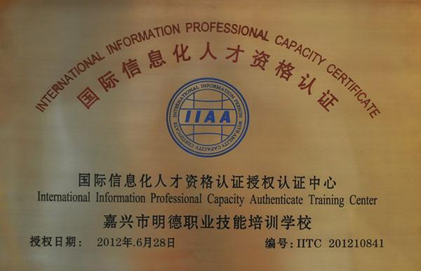 國際信息化人才資格認證